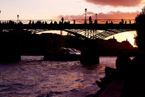 Pont Des Arts Twilight