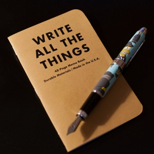 Write All The Things Image